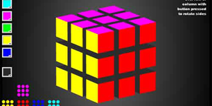 Intuitive 3D Rubik Cube in ActionScript3 with PaperVision3D