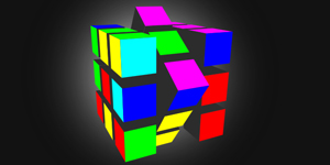 Intuitive 3D Rubik Cube with Three.js